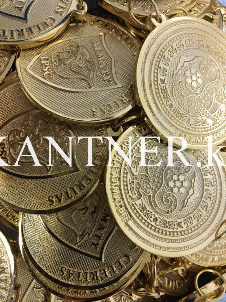 Медаль сувенирная/ монета на заказ в Алматы